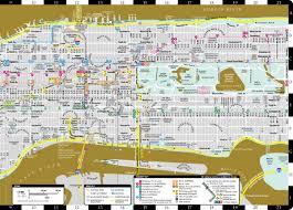 Map Of Midtown Manhattan Artwise Manhattan Museum Map Laminated Museum Map Of Manhattan