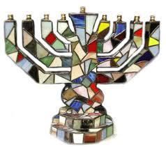 hanukkah menorahs stained glass menorah celebrate menorah