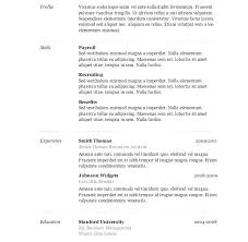free basic resume template resume templates word simple template basic format file