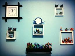 skylander bedroom a shadow box for each element would be cool painted etc with color