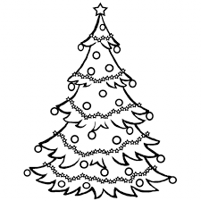 simple christmas tree drawing drawing art gallery