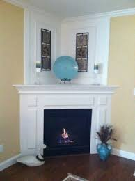 Electric Corner Fireplace Corner Electric Fireplace With Mantel Foter