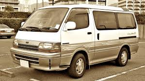 why is this toyota hiace still for sale right foot down