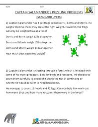 math problems for grade 4 4th grade math problems