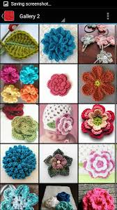 Free Pattern For Crochet Flower - free crochet flower patterns android apps on google play