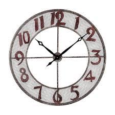sterling industries metal wall clock home design ideas