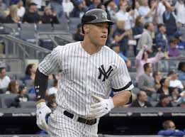 Aaron Judge Joins An Exclusive Club Of Yankees All Stars Pinstripe - aaron judge has 33 home runs at yankee stadium this season