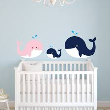 compare prices on whale wall decals online shopping buy low price customized color nautical theme large whale family wall stickers for kids room girls boys bedroom nursery
