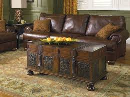 wooden trunk coffee table trunk style coffee table simple functional and different cole