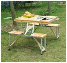 folding picnic table plans photo with cool folding bench and