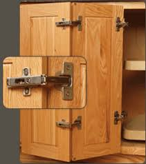 Cabinet Door Hinges By Blum And Salice WalzCraft - Lazy susan kitchen cabinet hinges