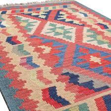 Kilim Area Rug 7 X10 Highest Quality Shirazb Kilim Rug Wool Rug