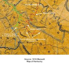 Map Of Kentucky State by Montgomery County Maps