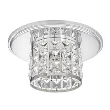 Fisheye Recessed Light by Crystal Clear Glass Tube Decorative Recessed Light Trim Cover