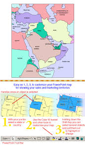 middle east map ppt middle east regional powerpoint map countries maps for design