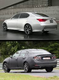 spied new lexus gs f first spy shots of 2013 lexus gs sedan