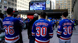 new york rangers fans rangers lightning game 7 is priciest ticket in town cbs new york