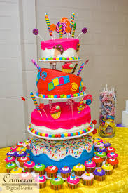 candy themed cake quinceaneras pinterest cake birthdays