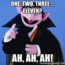 Meme Generator Two Images - one two three eleven ah ah ah the count meme generator