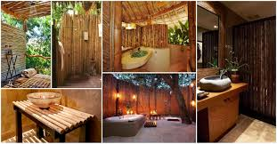 Bathroom Bamboo Bamboo Bathrooms That Will Make A Statement