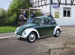 volkswagen beetle vw beetle police car revell 07035