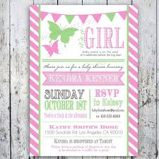 pink and green baby shower invitations theruntime