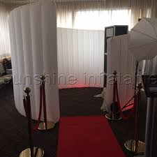 photo booth tent durable oxford material spiral photo booth tent