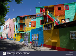 colorful building colorful buildings in the la boca area of buenos aires argentina