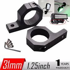 roll bar mount led light 2x led light mount bracket cl for roof roll cage bull bar