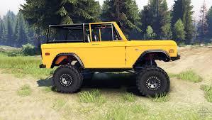 ford bronco jeep bronco 1966 orange for spin tires