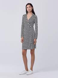 dvf wrap dress new jeanne two silk jersey wrap dress by dvf