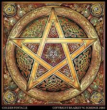 a pagan history pentacle project