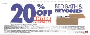 20 Off Entire Purchase Bed Bath And Beyond 20 Off Entire Purchase Bed Bath U0026 Beyond Department Store Image