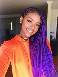 black hairstyles purple purple braids styles 35 gorgeous purple braids hairstyles