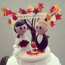 fall wedding cake toppers 64 best animal wedding cake toppers images on wedding