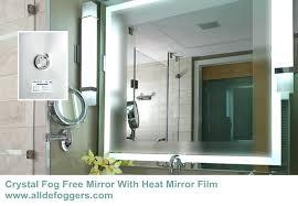 Bathroom Heated Mirror Heated Mirror Bathroom Cabinet Er Heated Bathroom Mirror Cabinet