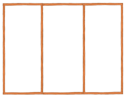 blank tri fold brochure template template design