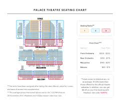 chicago theater floor plan palace theatre seating chart best seats pro tips and more