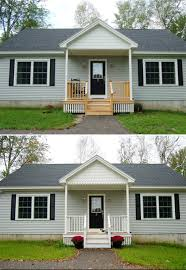house with a porch adding a porch to a house before and after