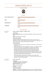 Informatica Resume Sample by Project Lead Resume Samples Visualcv Resume Samples Database