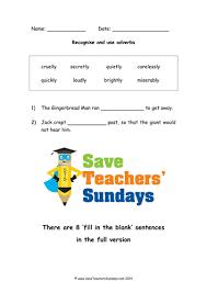adverbs of manner display worksheets activities on adverbs
