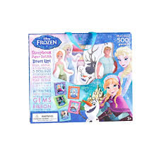 frozen paper doll kit disney s frozen paper doll kit