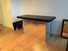U Shaped Reception Desk The Diamond 6 U0027 U Shaped Diamond Tread Plate Metal Indoor Dry Bar