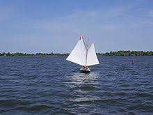 schooners should goose wing when sailing with the wind at their