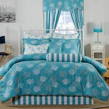 Brown And Blue Bed Sets Agreeable Blue And White Bed In A Bag Bagorter Target Queen Brown
