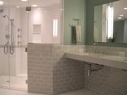 Handicapped Bathroom Designs Fully White Bathroom For Safety - Handicap bathrooms designs
