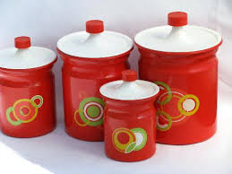 fashioned kitchen canisters fashioned kitchen canisters retro kitchen canister set green