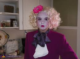 Effie Halloween Costume Effie Trinket Hunger Games Costume Photo 4 5