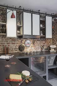 meuble de cuisine style industriel meuble cuisine hauteur 100 cm pour idees de deco de cuisine