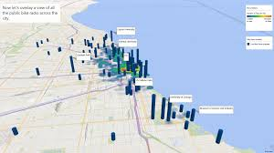 divvy bike map creating business value with data slalom